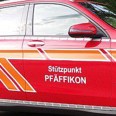 Autofolierung und Beschriftung von Swisswrapstyle