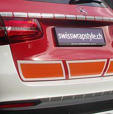 Autofolierung von Swisswrapstyle Kofferraum